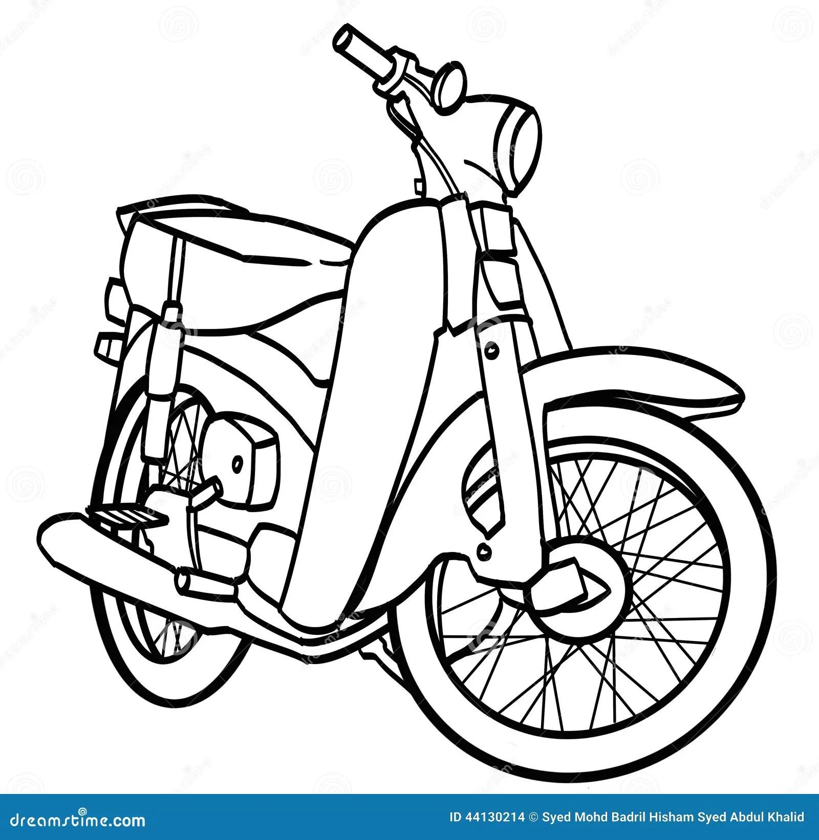 Motorcycle Stock Illustration Illustration Of Athlete