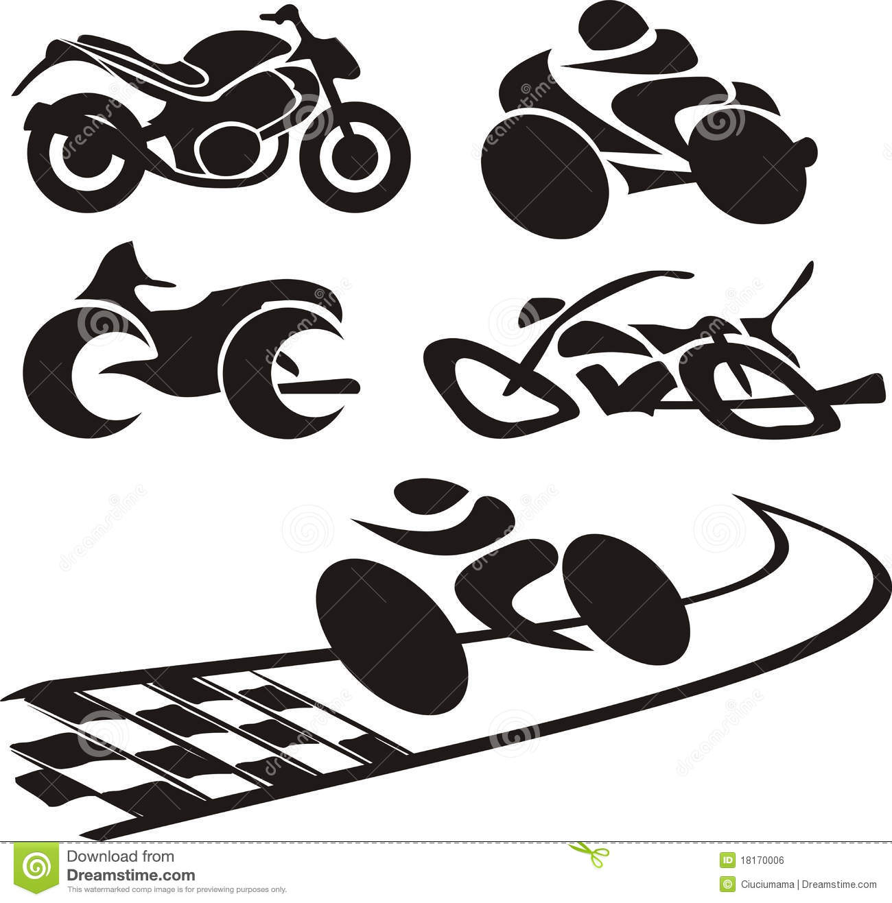 Motorcycle Silhouette