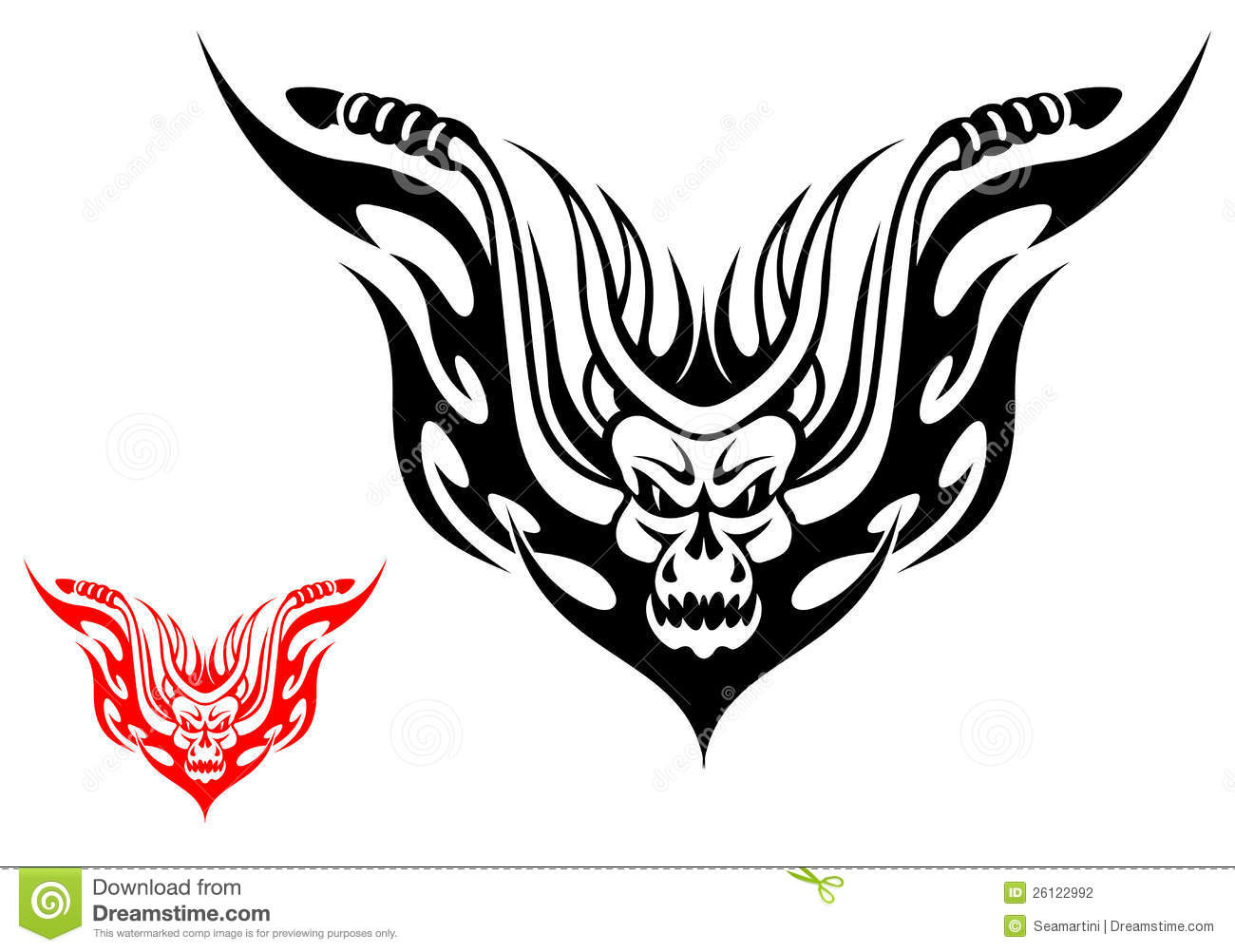 Motorcycle Tattoo Stock Vector Illustration Of Decoration