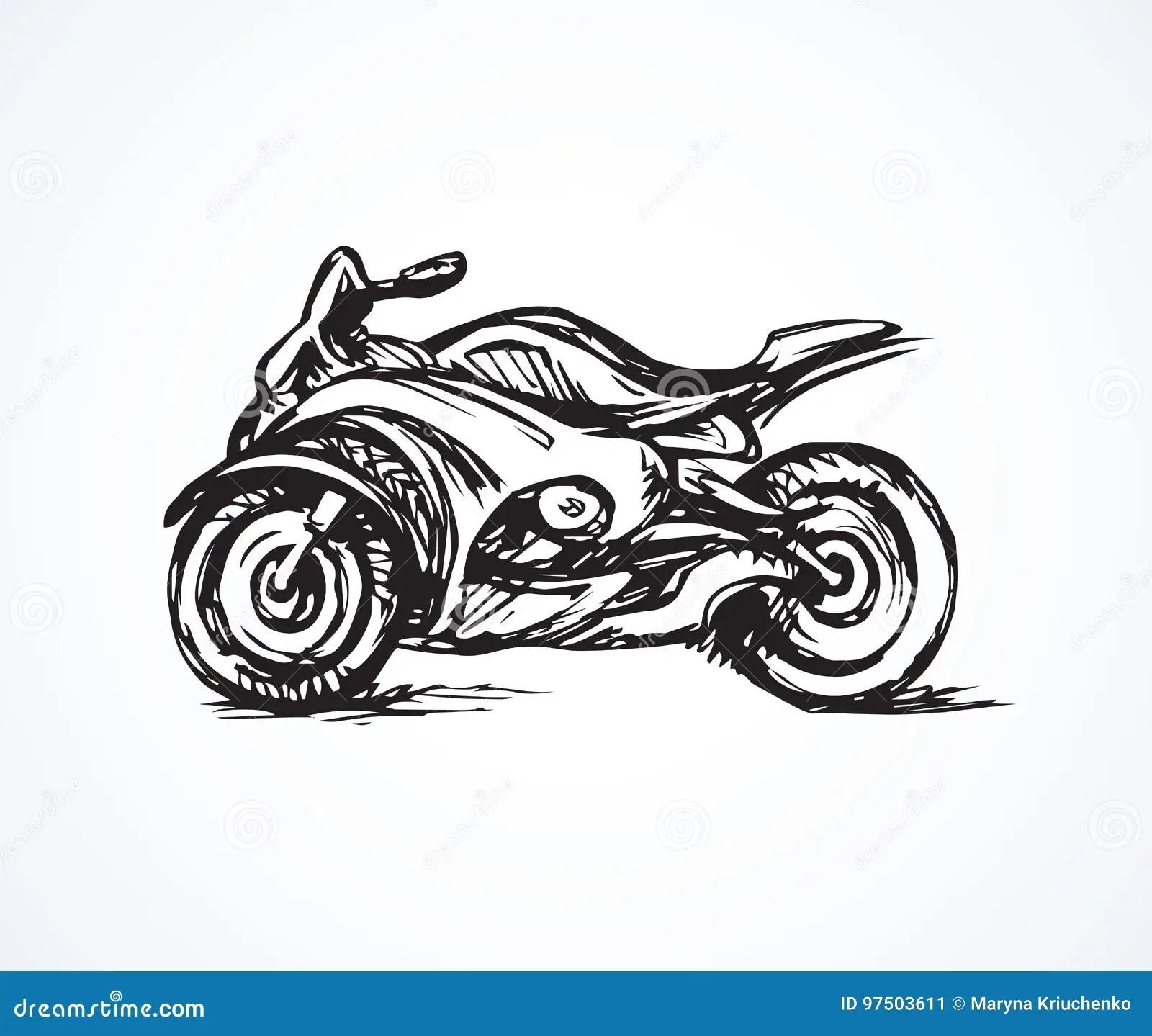 Sportbike Drawing