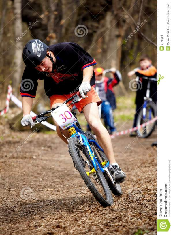 Mountain Bike Cross-country Relay Race Editorial Photo ...