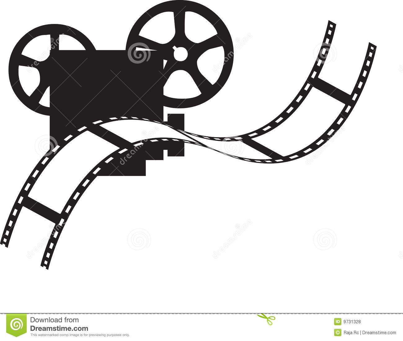 Movie Time Clip Art Free