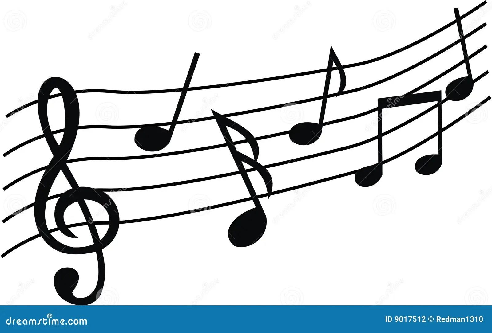 Music Notes Stock Vector Illustration Of Jazz Clip Rock
