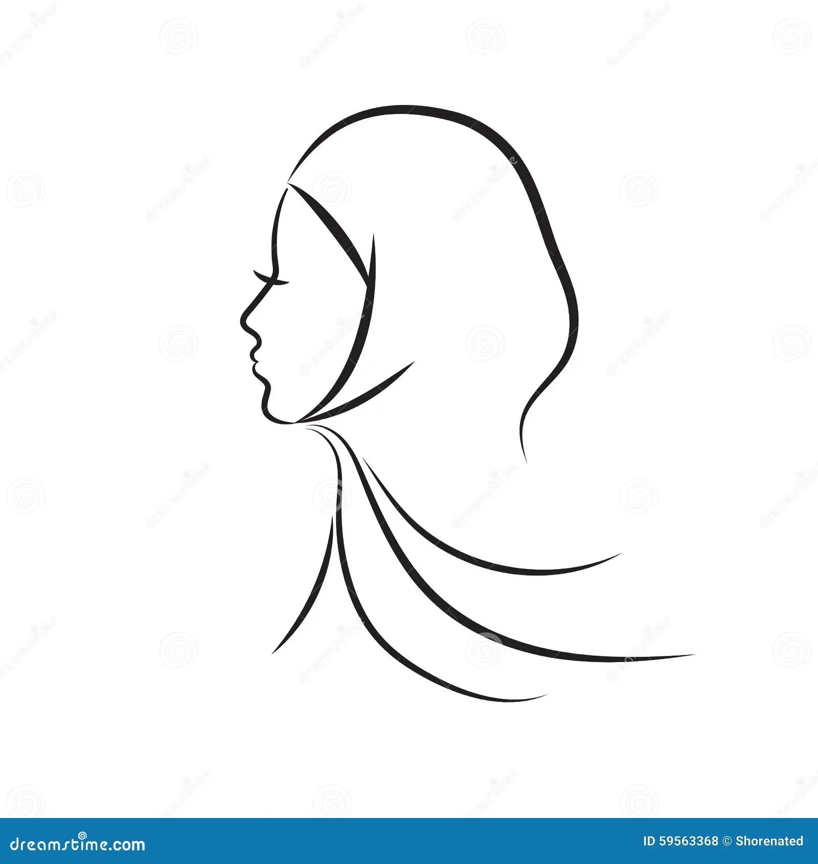 Muslim Woman Stock Vector Illustration Of Iran Islamic