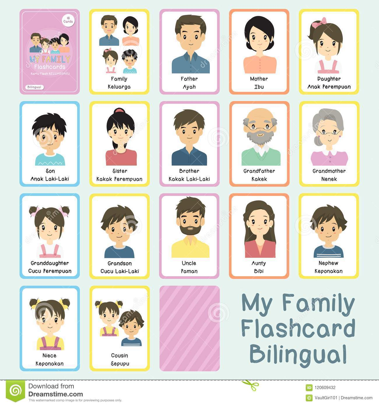 English Cards Family