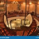Myanmar Style Restaurant Interior Cozy Design Stock Image Image Of Container Craft 144828703