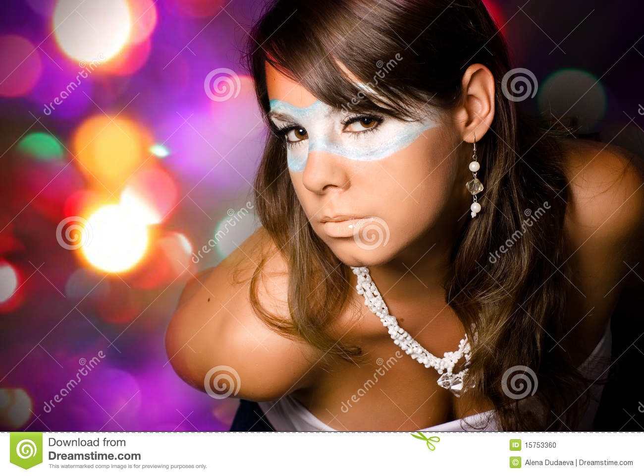 Mysterious Girl Stock Photo Image 15753360