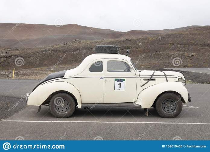 Myvatn Iceland 24 October 2019 Oldtimer Car In The Icelandic Saga Rallye Editorial Photo Image Of Legendary Auto 169019436