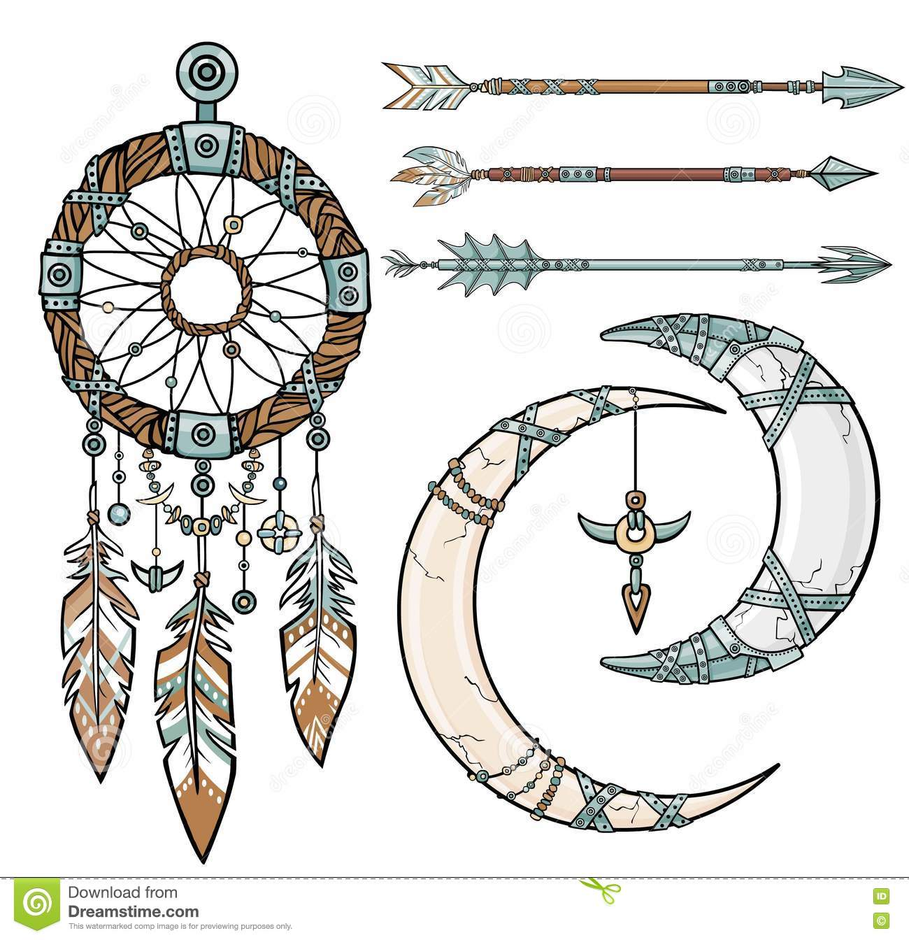 Worksheet Native American Dream Catcher