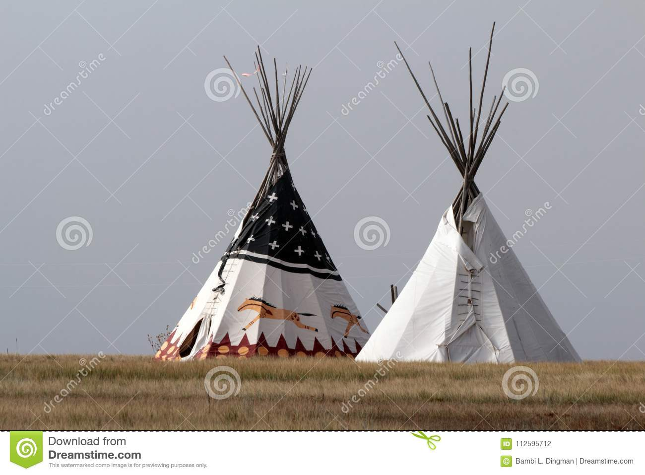 Native American Tipi Stock Photo Image Of Great Ethnic