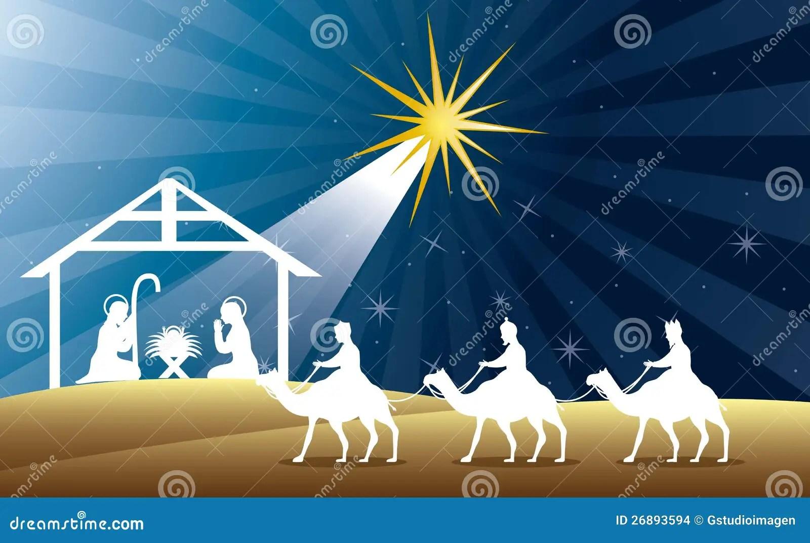 Nativity Scene Stock Images Image 26893594