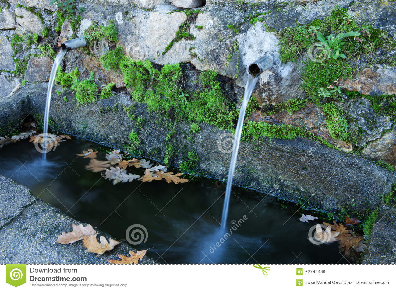 Natural Water Sources Stock Image Image Of Life Ecology