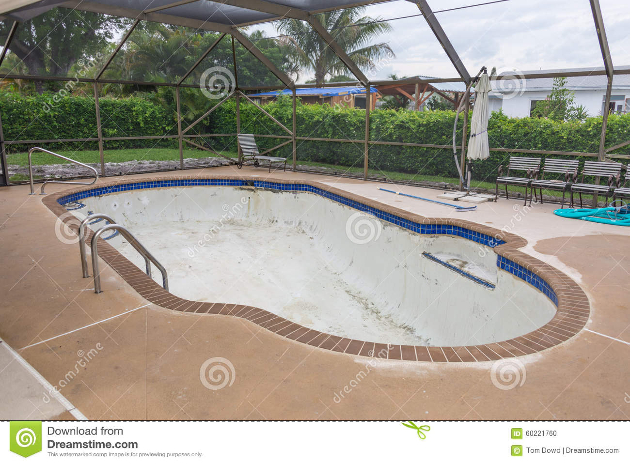 new pool tile border grout work remodel stock photo image of coat jets 60221760