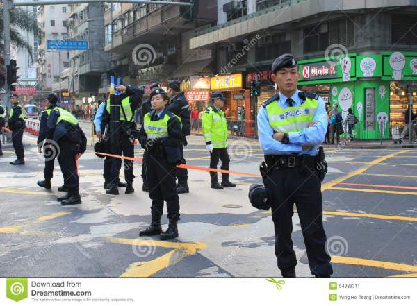 2014 New Year Marches In Hong Kong Editorial Photo - Image ...