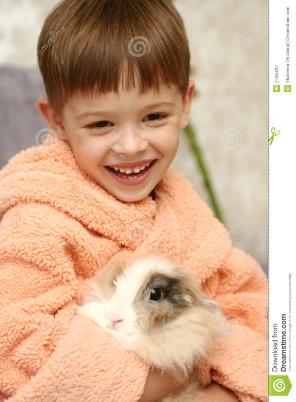The nice boy stock image Image of care emotions animal
