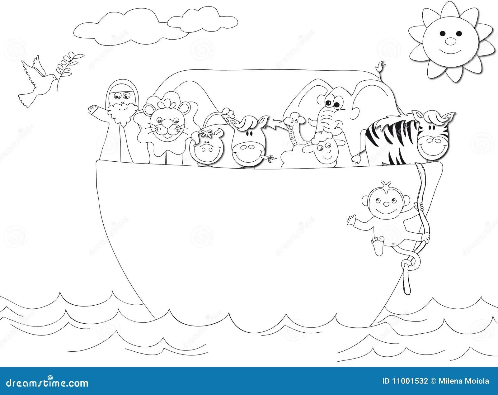 Noahs Ark Stock Illustration Illustration Of Horse Nice