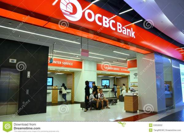 OCBC Bank Singapore editorial photography. Image of ...