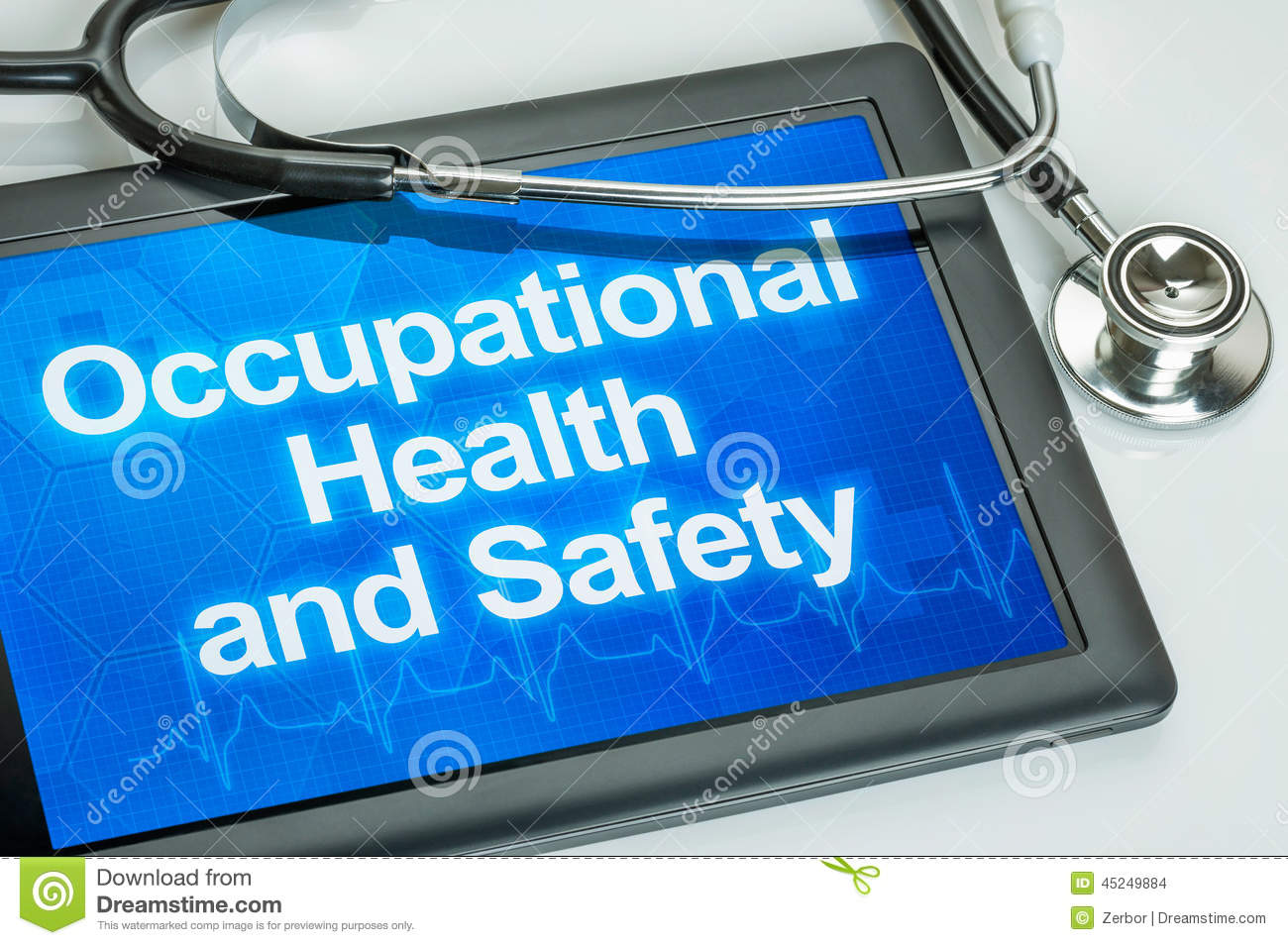 Occupational Health And Safety Stock Photo
