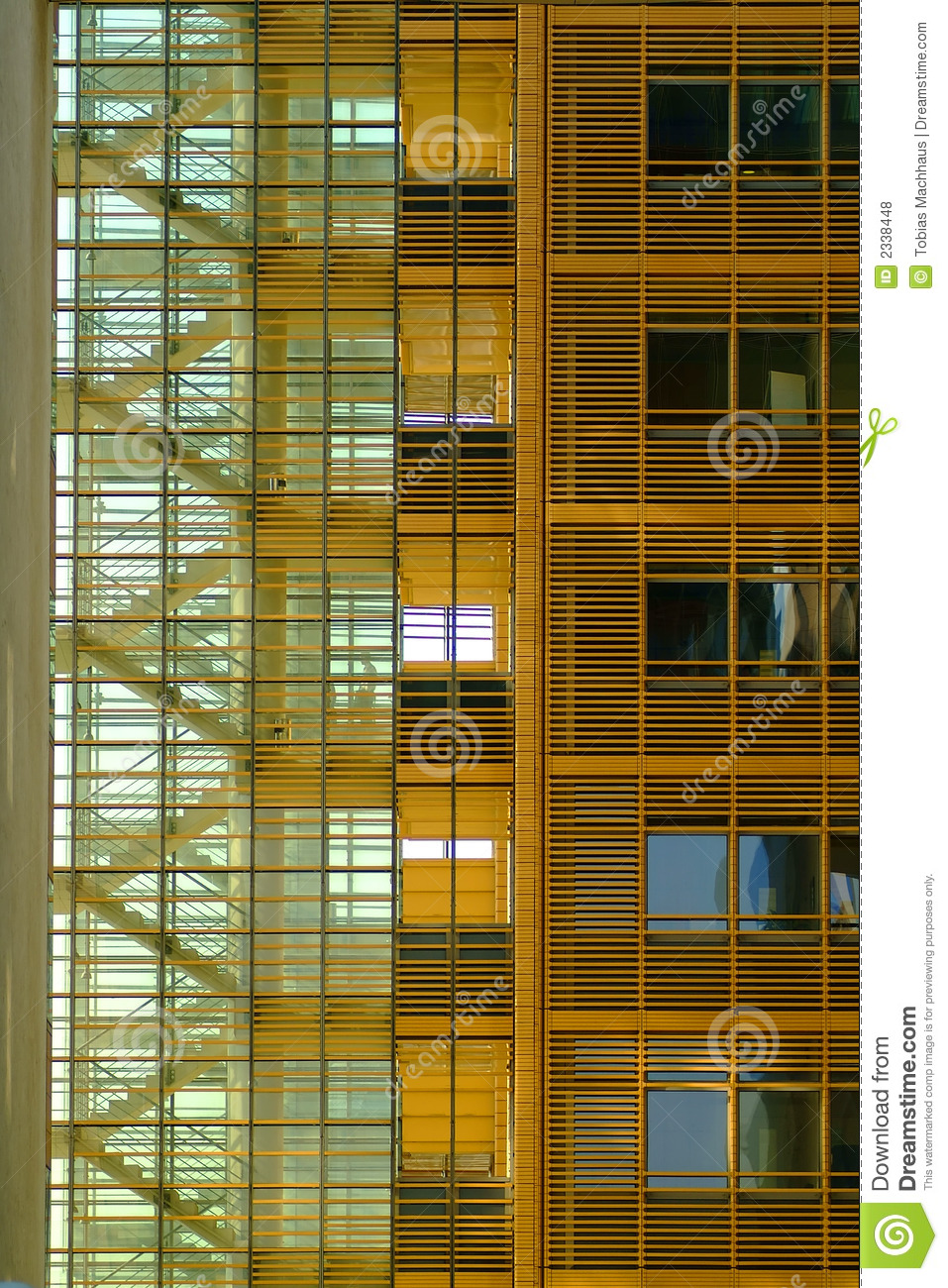 Office Building Staircase Royalty Free Stock Photos