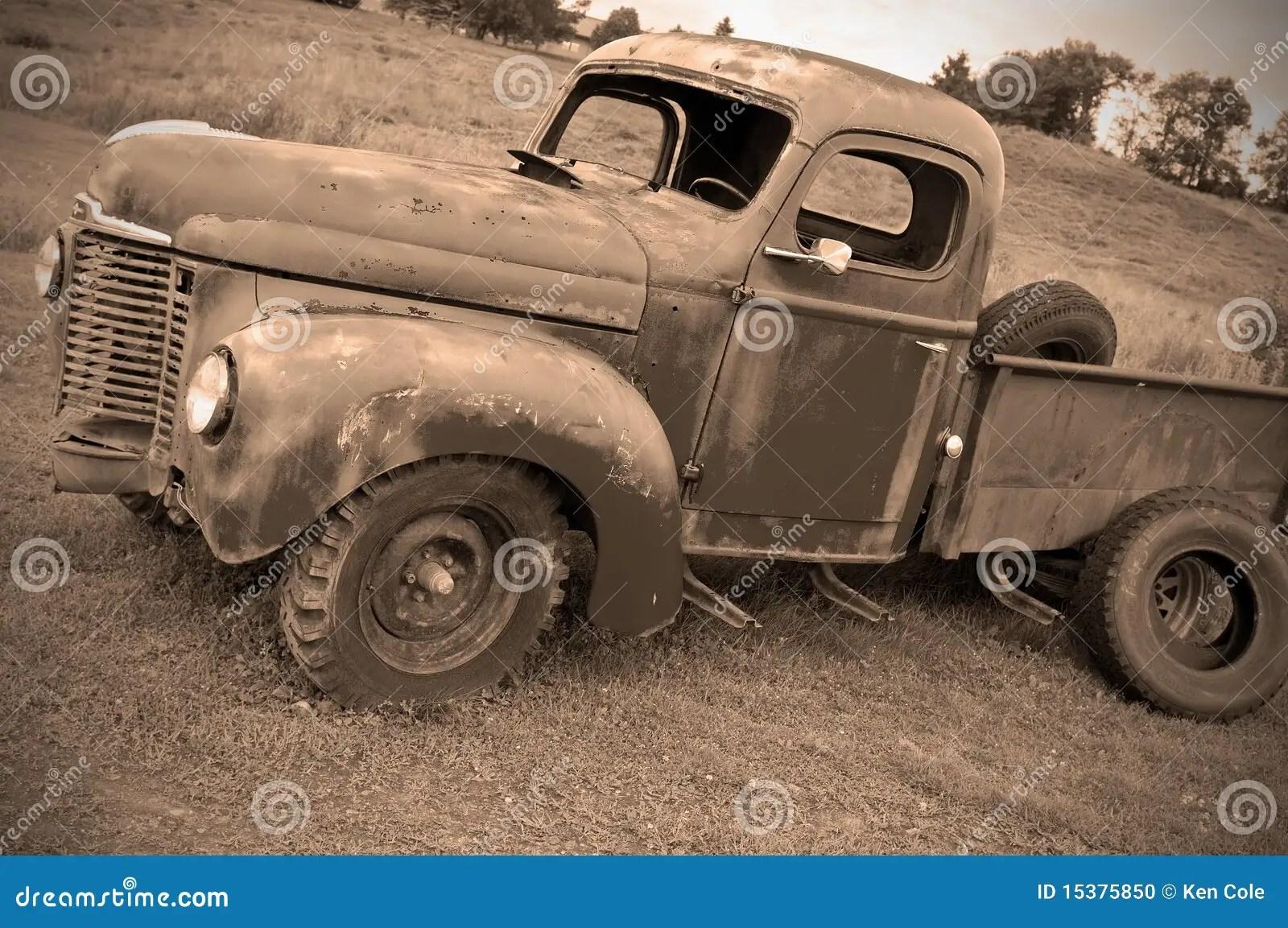 Farm Trucks Old Abandoned