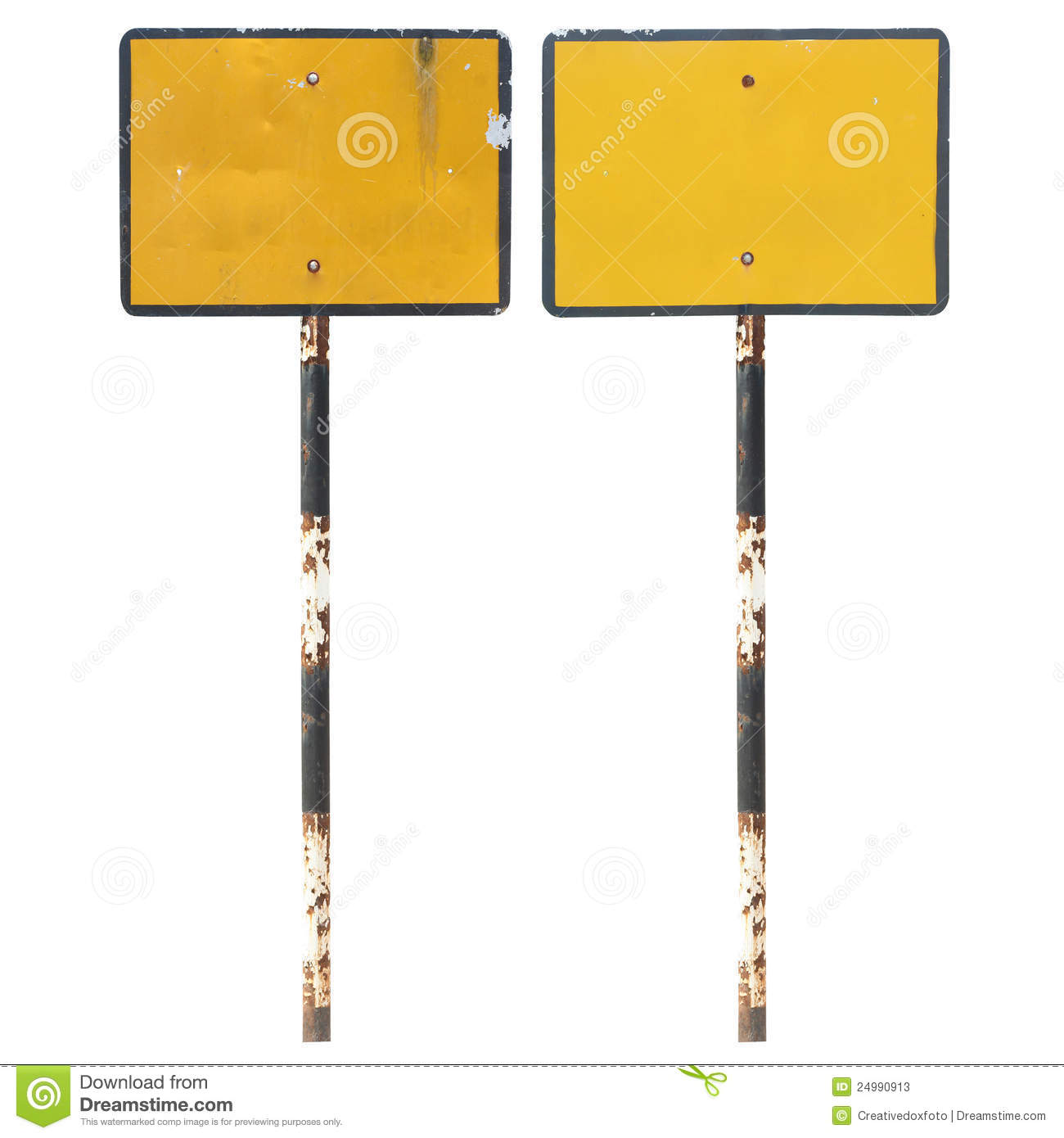 Old Blank Traffic Sign Stock Image Image Of Pattern