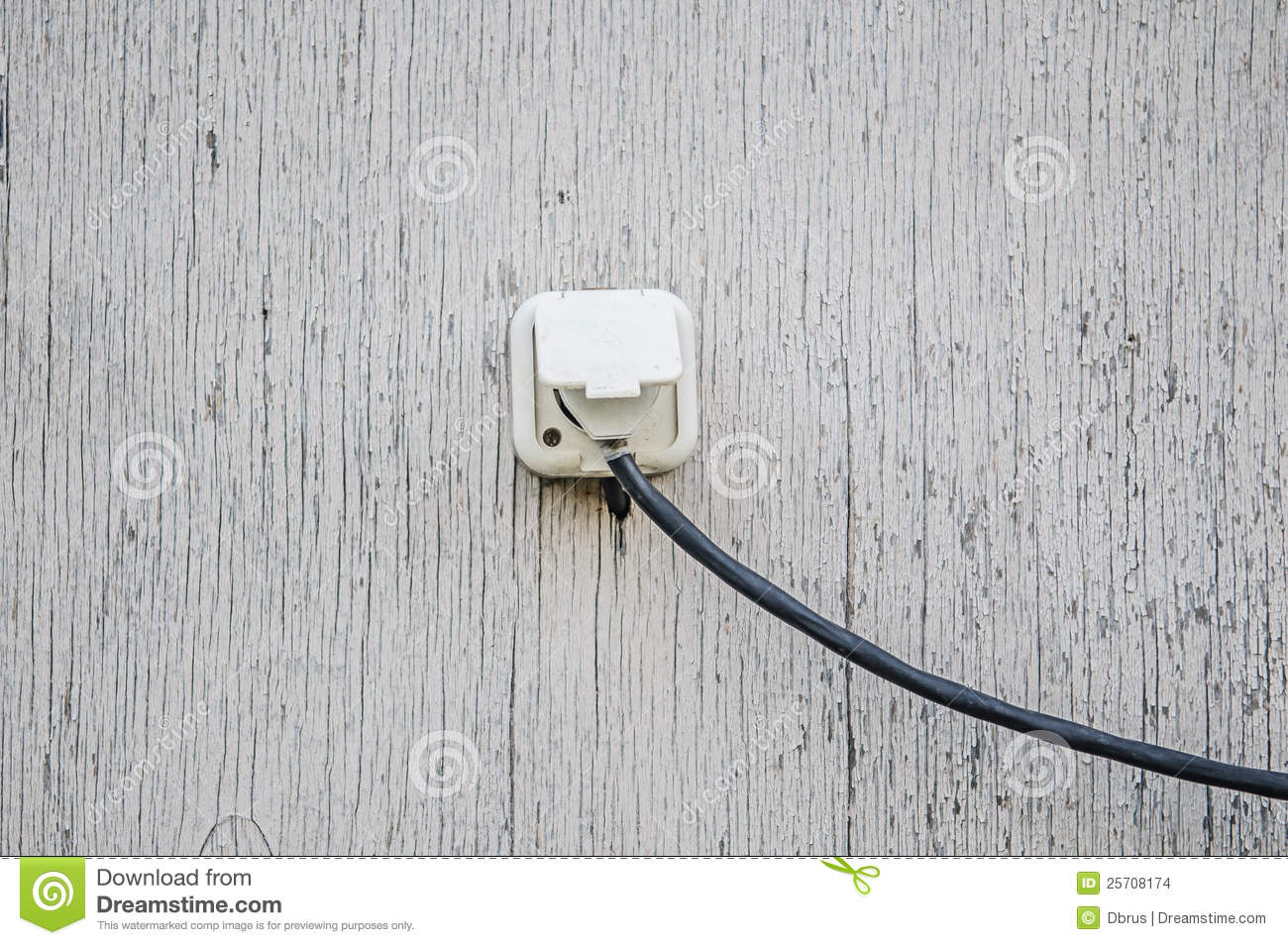 Old Electrical Outlet Stock Images