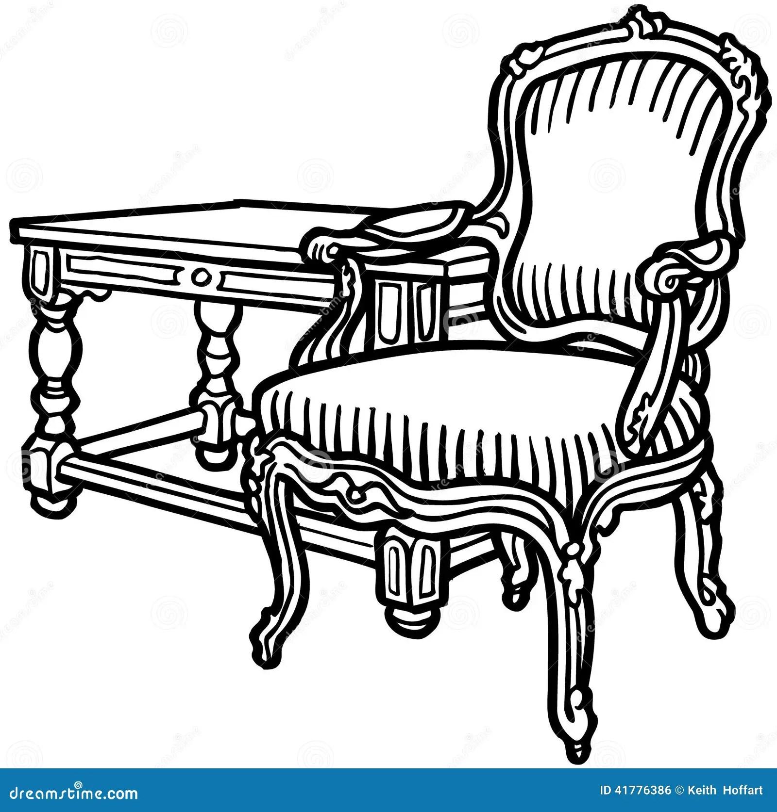 Chair Clip Art Antique Furniture Cliparts