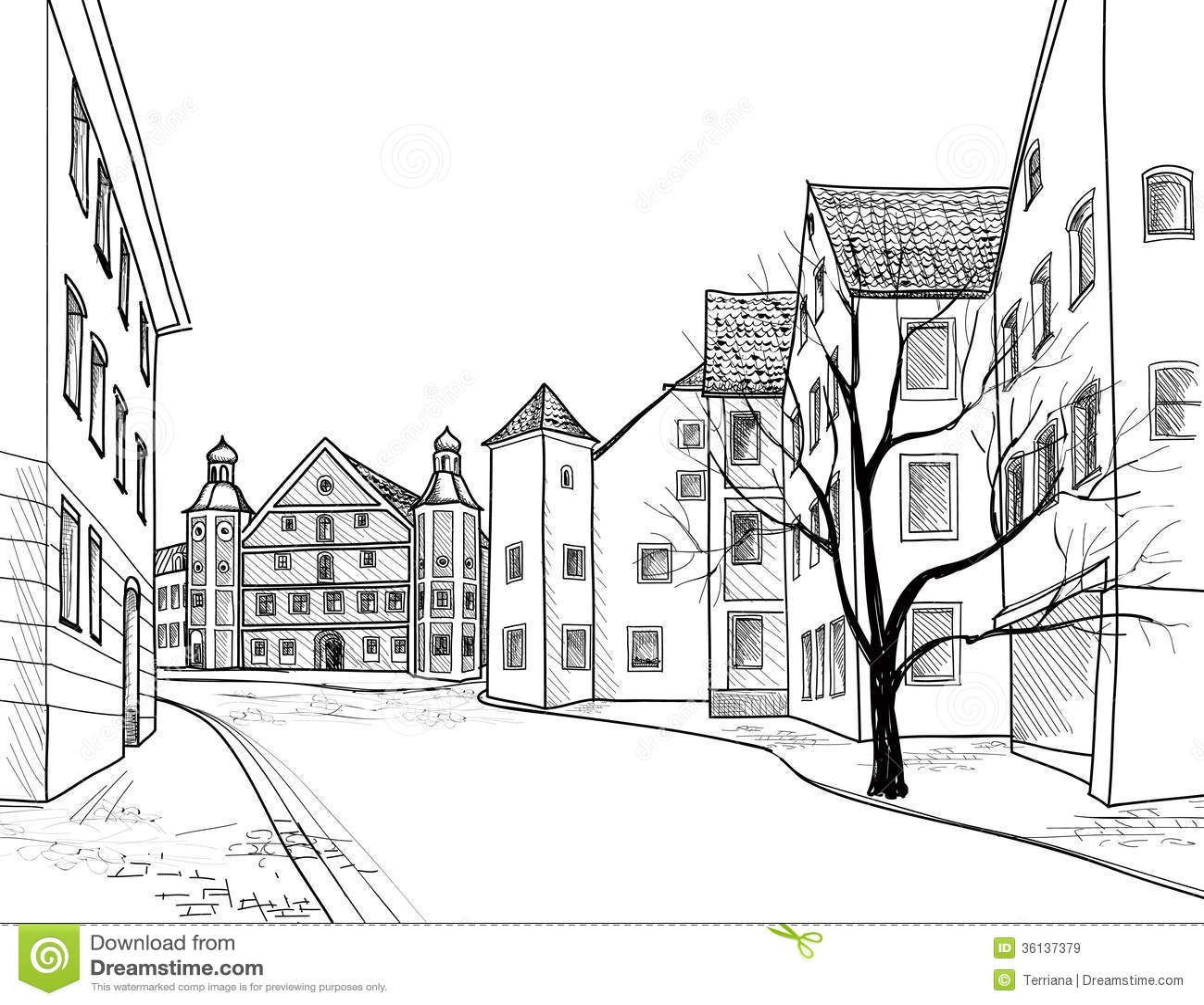 L A City Street