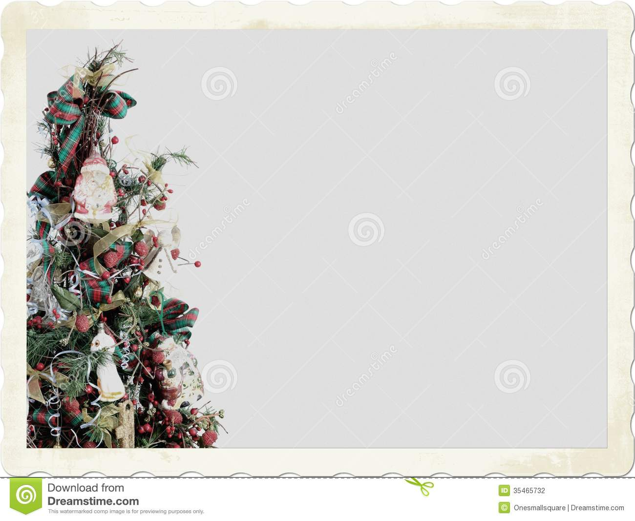 Old Fashioned Christmas Clip Art