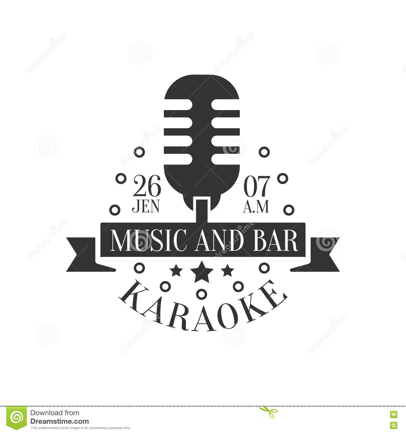 Old Fashioned Microphone Karaoke Premium Quality Bar Club