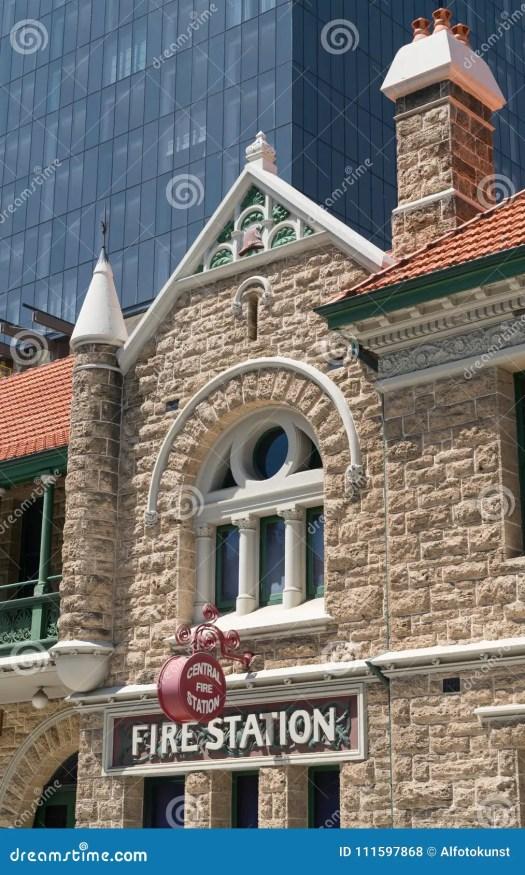 Old Fire Station, Perth, Australia Editorial Stock Photo ...