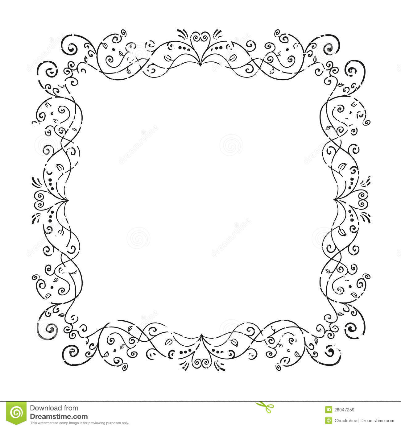 Old Frame Royalty Free Stock Images