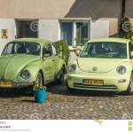 Old And New Model Of Vw Beetle Parked Editorial Photo Image Of Elegant Models 115744871