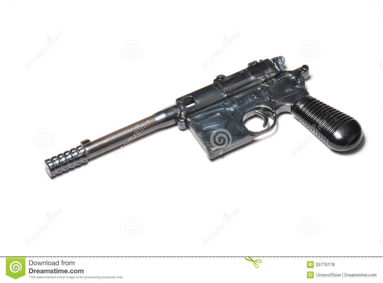 Old Pistol Stock Photo Image Of Eject Semi Handle
