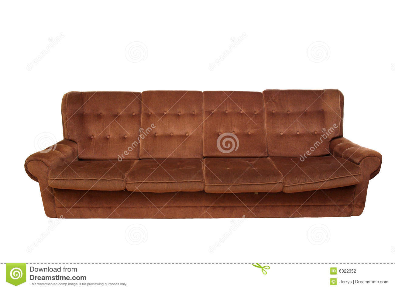 Old Sofa Stock Photography