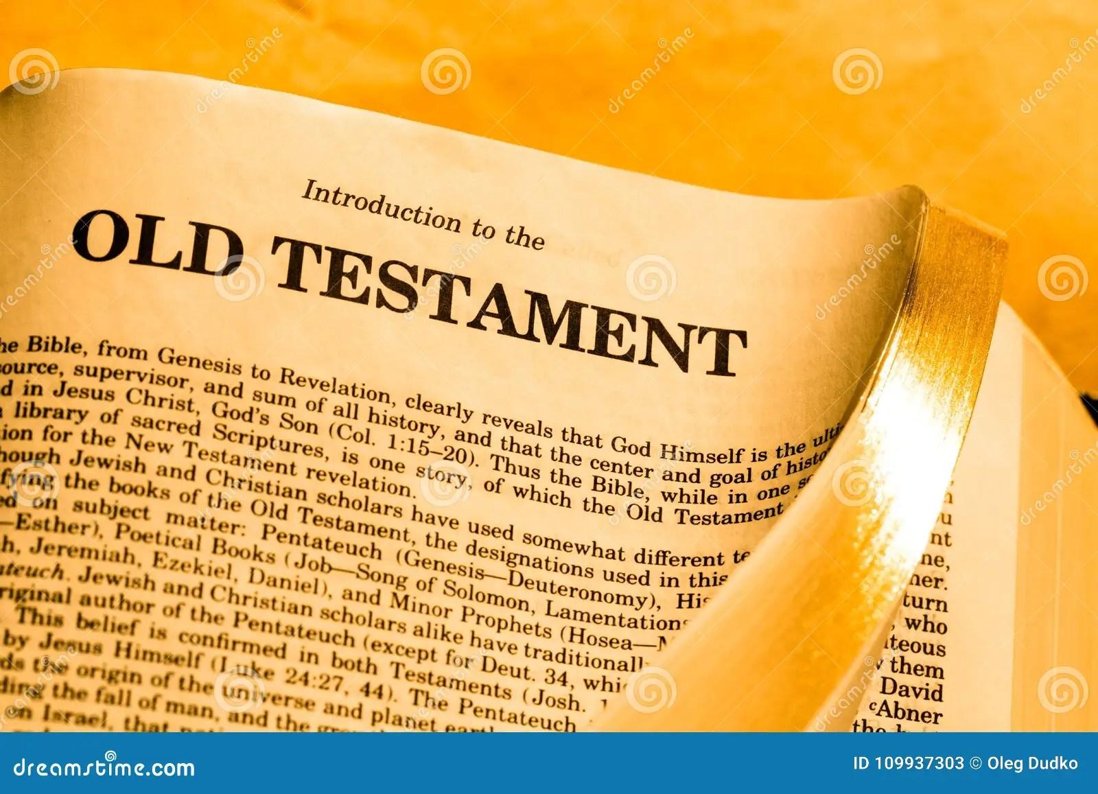 Old Testament Stock Image Image Of Sayings Life