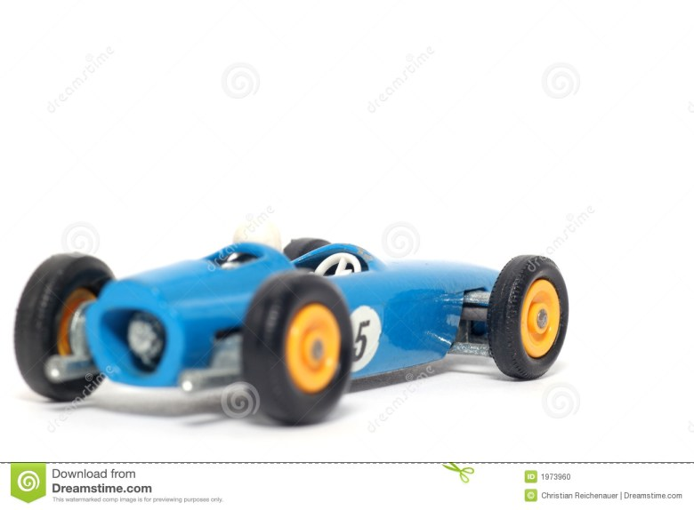 Old Toy Car B.R.M. Race Car Stock Photo - Image: 1973960