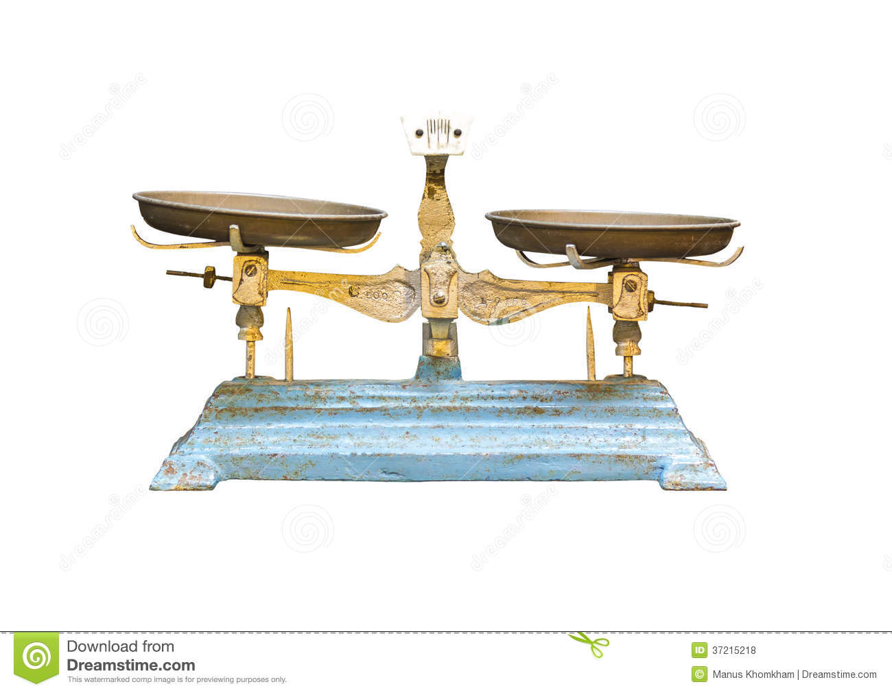 Old Vintage Balance Scale Royalty Free Stock Photos