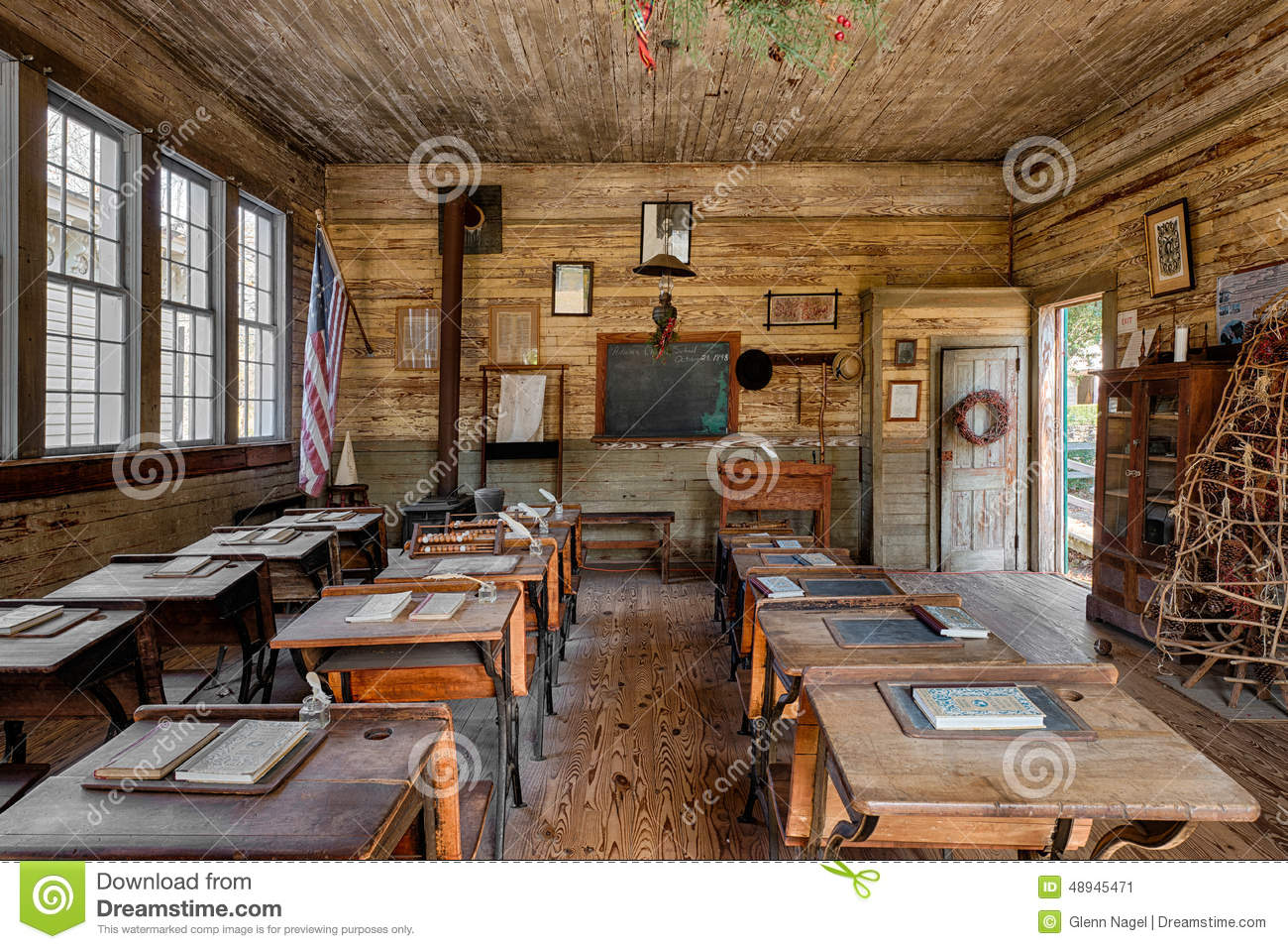 One Room Schoolhouse Editorial Photo Image Of Classroom