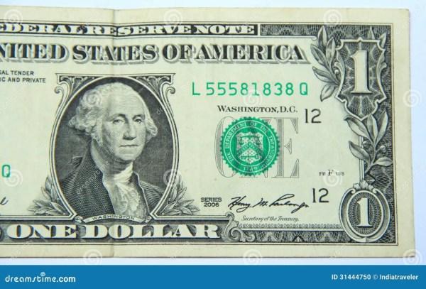 One US Dollar. Stock Photo - Image: 31444750
