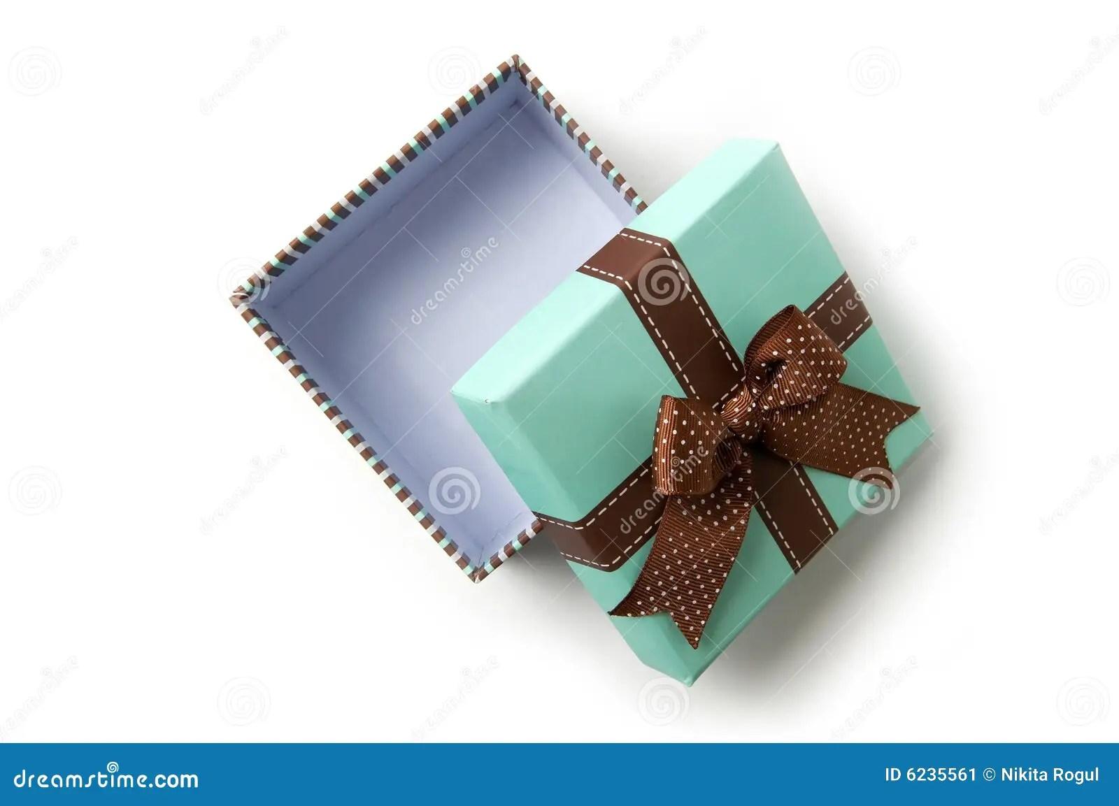 Open Gift Box Stock Image Image 6235561