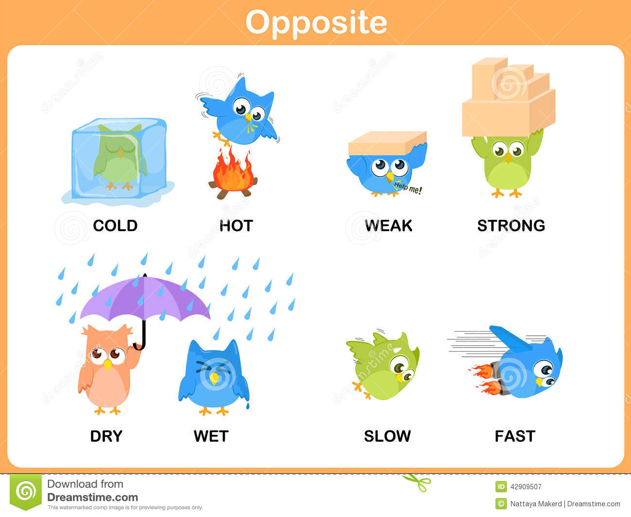 15 English Opposite Worksheets For Grade 1
