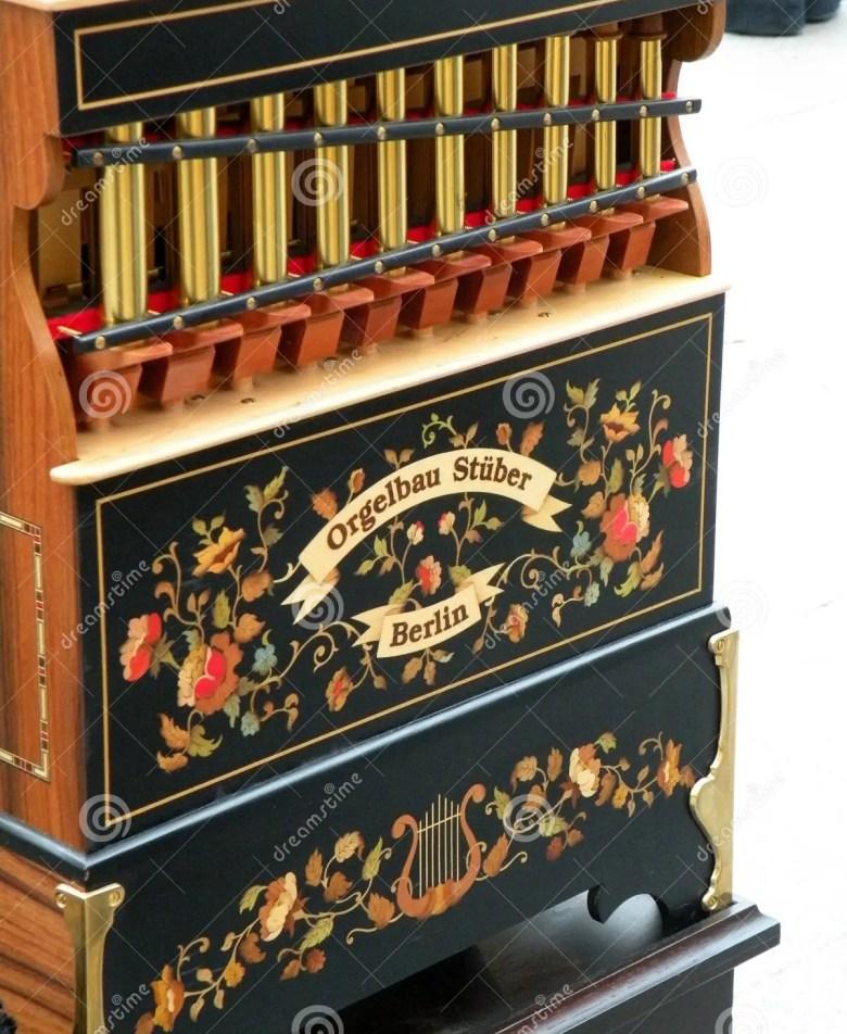 organ made in berlin editorial photo. image of built - 99551936