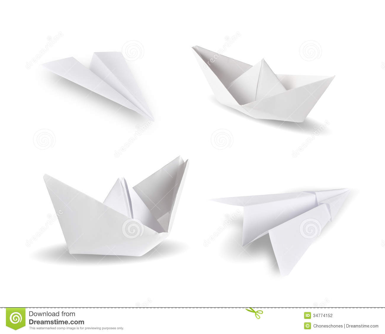 Origami Stock Photography Image 34774152