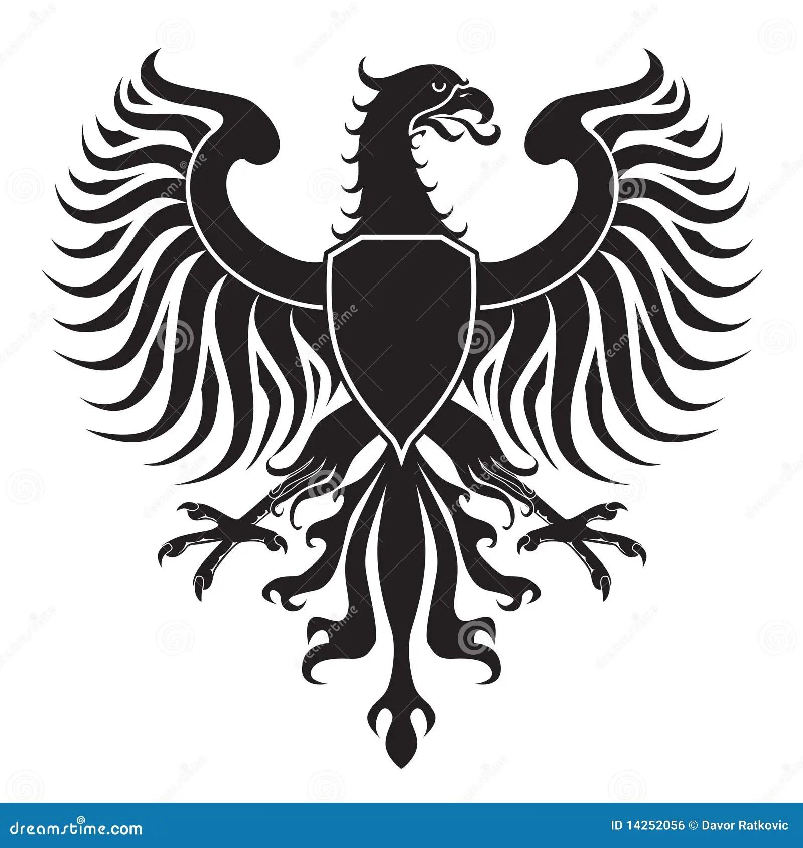 Original Eagle Crest Stock Vector Illustration Of