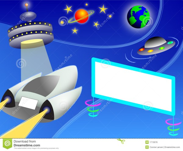 Outer Space Highwayeps Royalty Free Stock Image Image
