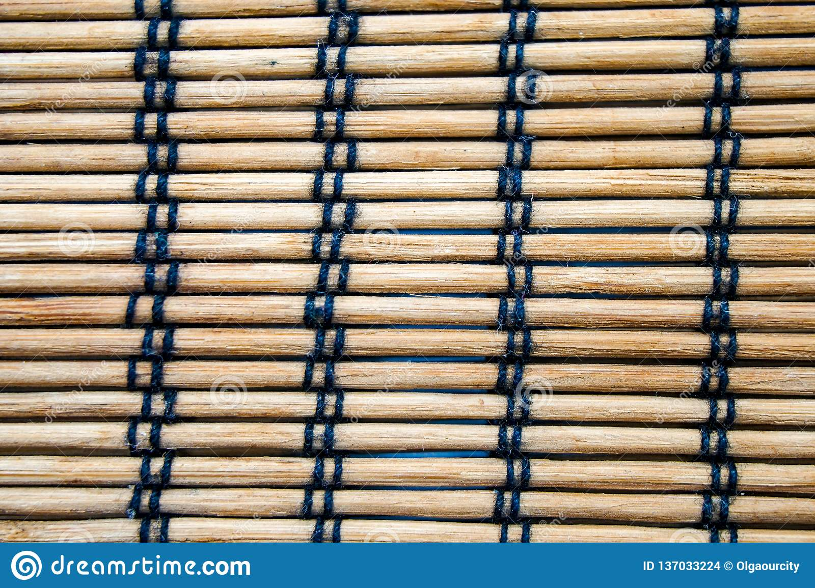 Wicker Mat Texture China Wood Wooden Background