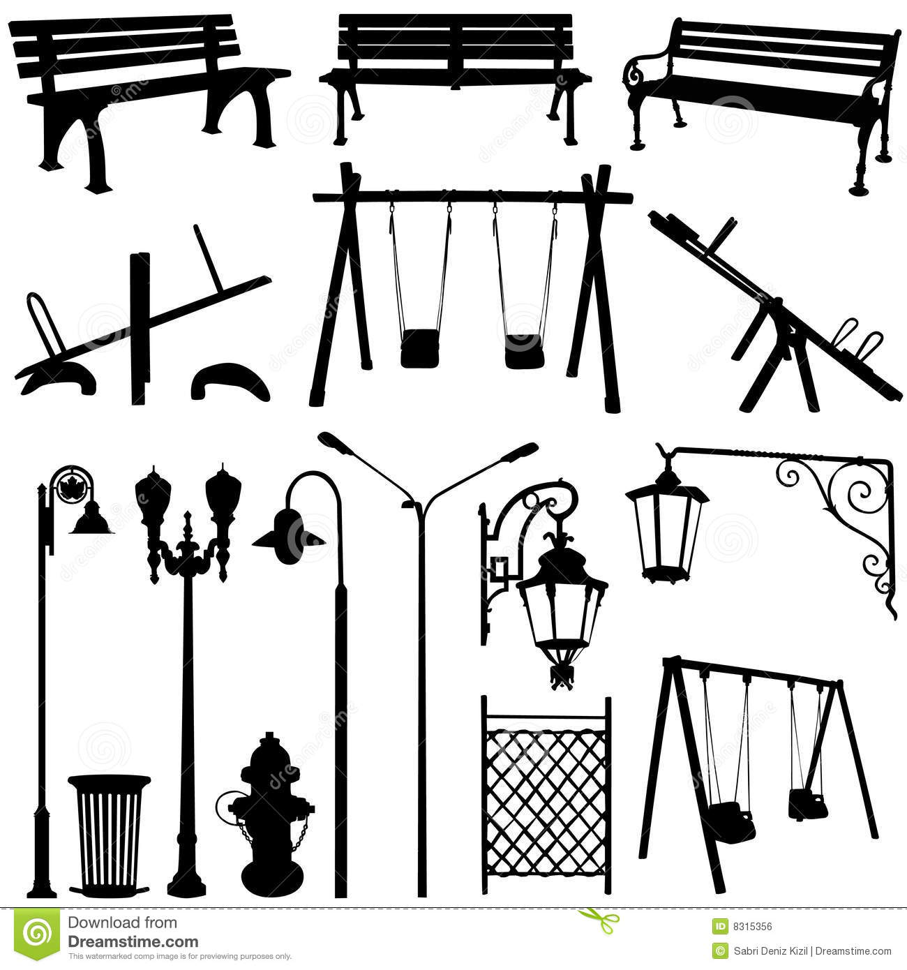 Park Outdoor Object Royalty Free Stock Image