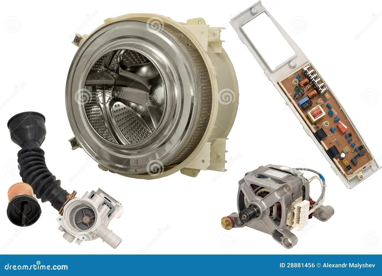 Splendide Washer Dryer Parts Manual