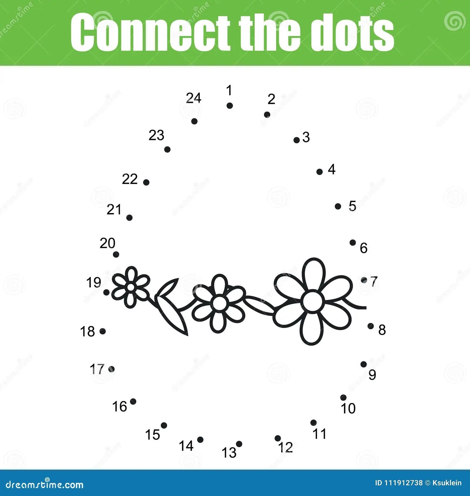 Pasen Spel Verbind De Punten Door Aantallen Kinderen